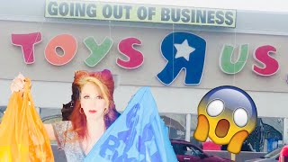 RIP TOYS R US HAUL 3 & 4 Farewell Purchase Store Closing Two Locations & Pops Toy Hunt