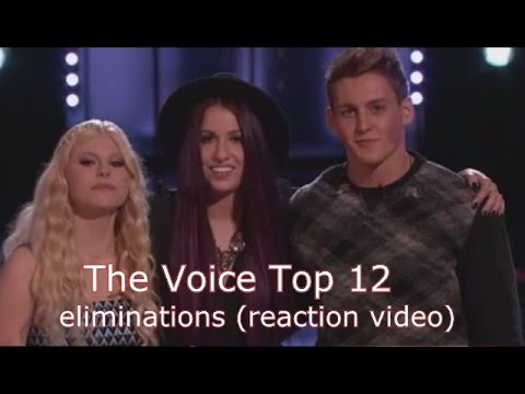 The Voice Top 12 Eliminations (reaction video)