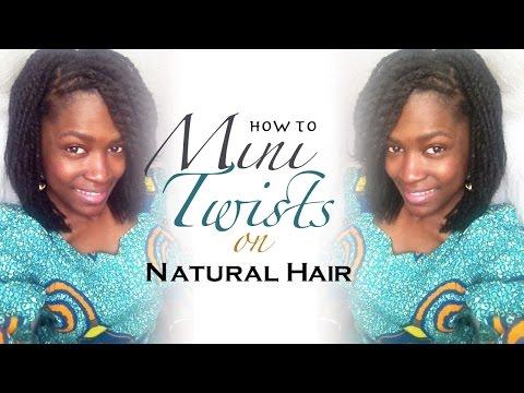 Mini Twists Natural Hair How To Do Mini Twists On Natural Hair Mini Twist On Short Natural Hair Silvia Dwomoh