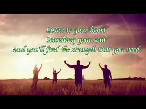 Live Like You Believe - Jenny Phillips (Lyrics)