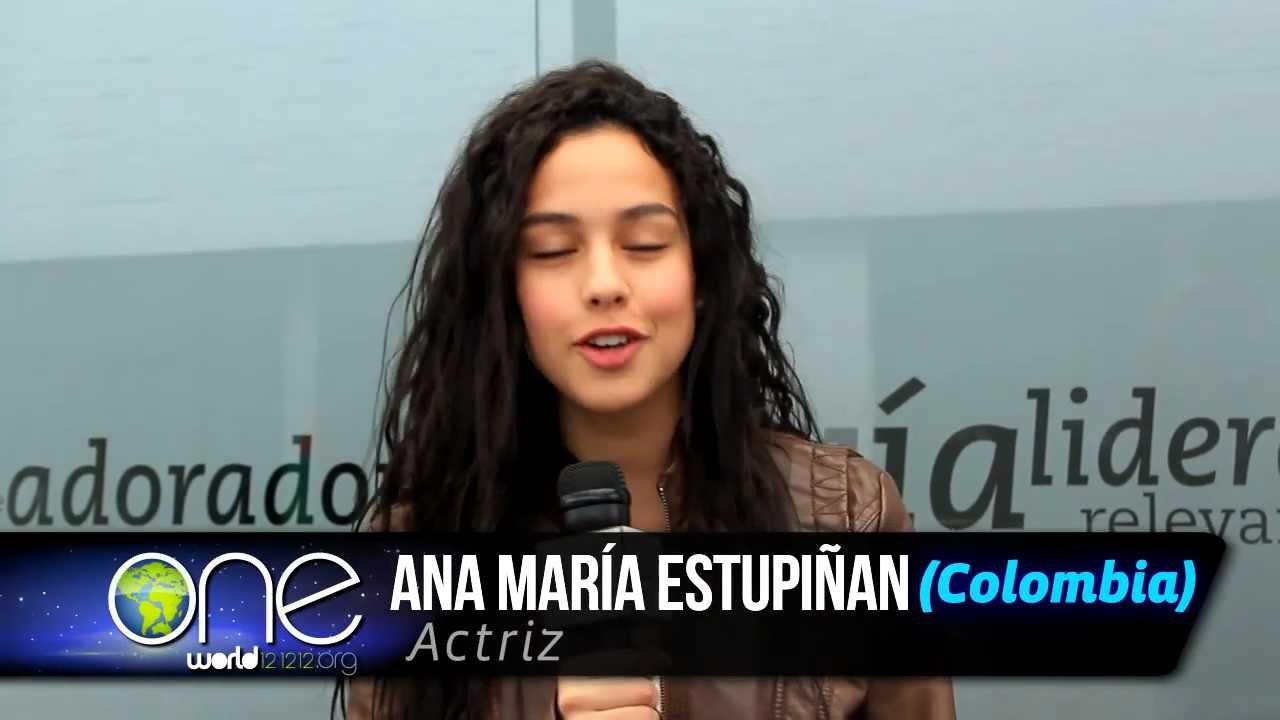 121212_Ana Maria Estupiñan - One world 121212 - YouTube