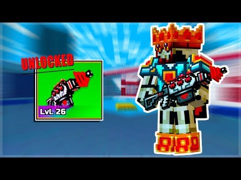 Pixel Gun 3D OMG! I Finally Crafted The MYTHICAL Champion Solar Cannon!