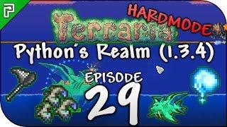 Terraria 1.3.4 Let's Play | Truffle Worm Farm! Duke Fishron! | Python's Realm [Episode 29]