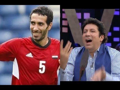 عيش الليلة - شاهد رد فعل هانى وداليا البحيري لحظة كشف صورة أبوتريكة ... وسط تصفيق حاد الجمهور !!