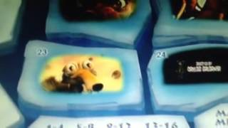 Ice Age 2 The Meltdown DVD Menu Walkthrough