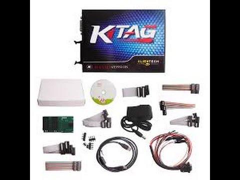 รีวิว Alientech KTAG V 2.10 ( K-TAG )  ECU Programming Tool : Supercar