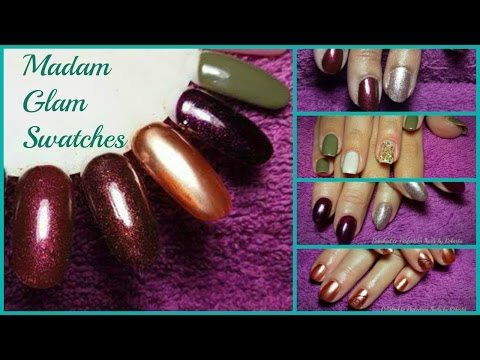 MADAM GLAM GEL POLISH SWATCHES