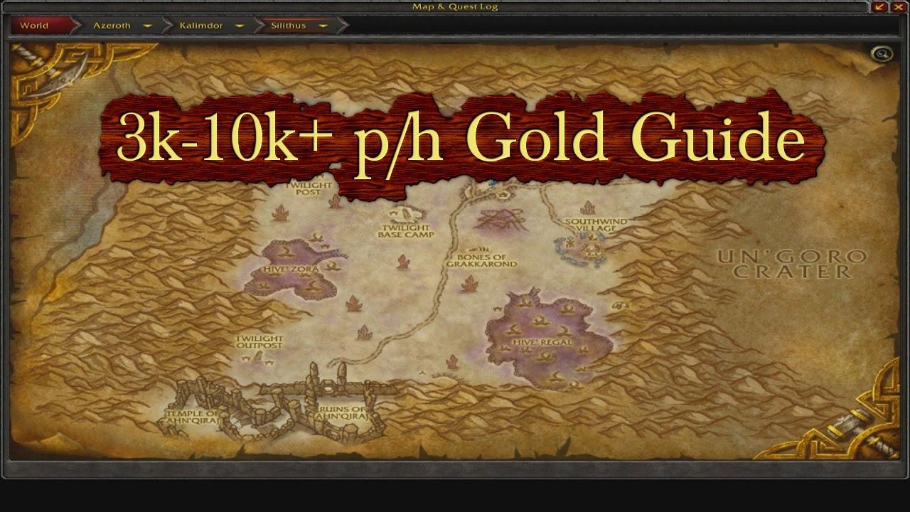 Wow Gold Farm Guide 3 10k Per Hour Lv 50 Elemental Farm Pre Legion Farming Youtube