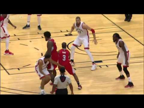 Toronto Raptors vs Los Angeles Clippers October 4, 2015