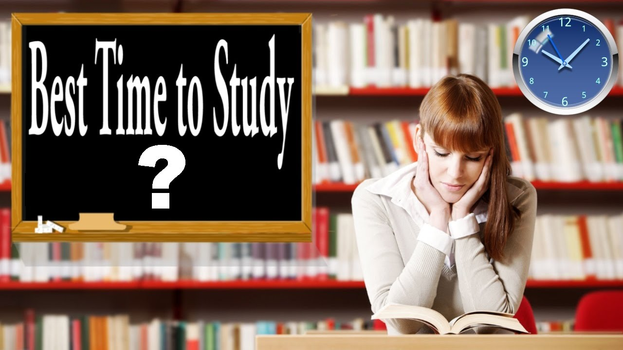 What is the best time to study youtube altavistaventures Choice Image