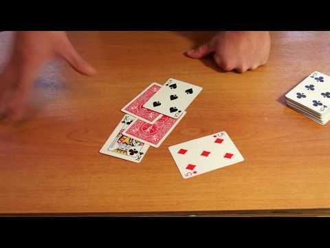 Видео фокусы, обучение, секреты карточных фокусов