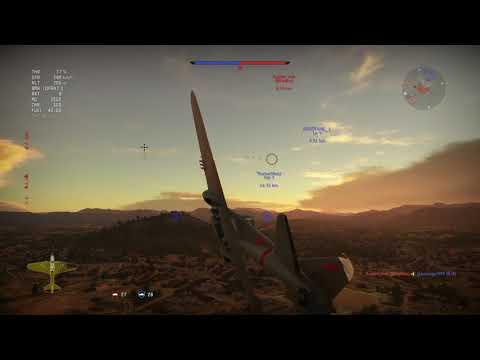 Glorious soviet IL-2 destroys capitalist plane with stronk soviet bombs