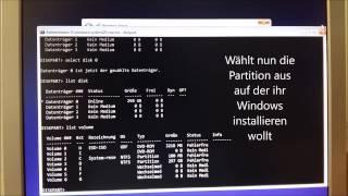 Festplatte richtig formatieren bei Windows 8/10 Installation