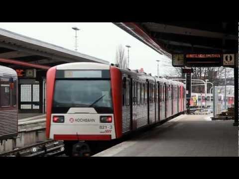 U-Bahn Hamburg // DT3 und DT4 zum Alstereisvergnügen