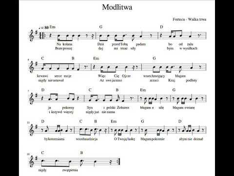 """FORTECA -  walka trwa  - """"MODLITWA"""""""