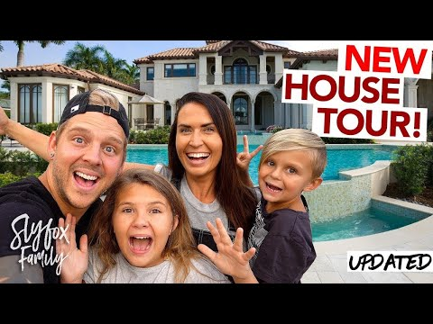 OUR NEW FAMILY HOUSE TOUR!! 2017 UPDATED!! | Slyfox Family