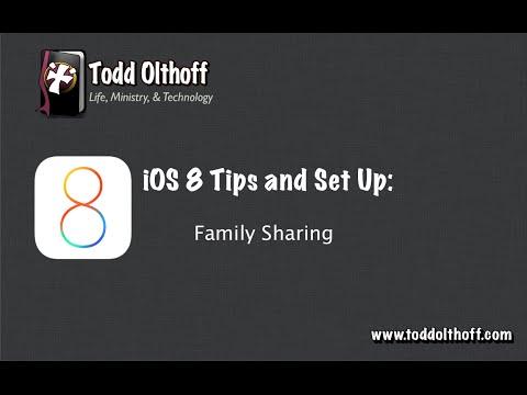 iOS 8 Tips & Set Up Part 1: Family Sharing