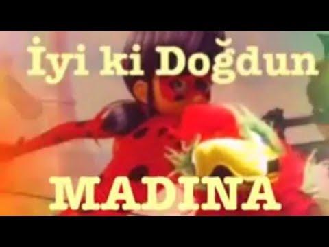 İyi ki Doğdun MADINA :) Komik Doğum günü Mesajı 1.VERSİYON, DOĞUMGÜNÜ VİDEOSU Made in Turkey :) 🎂