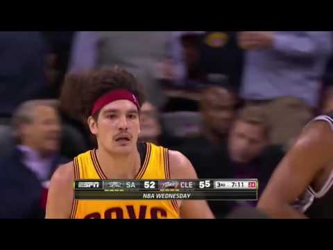 Anderson Varejao vs Spurs 11/19/14  23 points