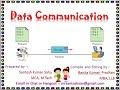 4. Data Communication for Class 7 ICT Odisha Adarsha Vidyalay in Odia and English