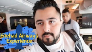 ETIHAD AIRWAYS Economy Class Experience | Heathrow Airport London to Abu Dhabi Flight