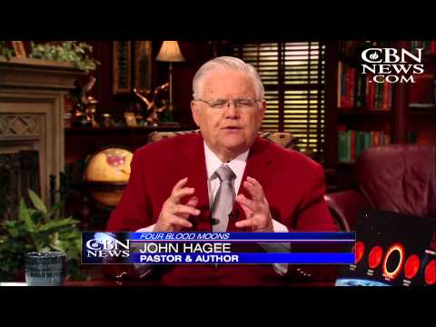 CBN News Sunday: Pastor John Hagee Talks Blood Moons
