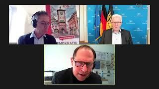 Winfried Kretschmann (Bündnis 90/Die Grünen): Baden-Württembergs Spitzenkandidaten Im Kreuzverhör