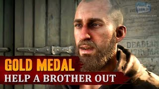 Red Dead Redemption 2 - Mission #48 - Help a Brother Out [Gold Medal]