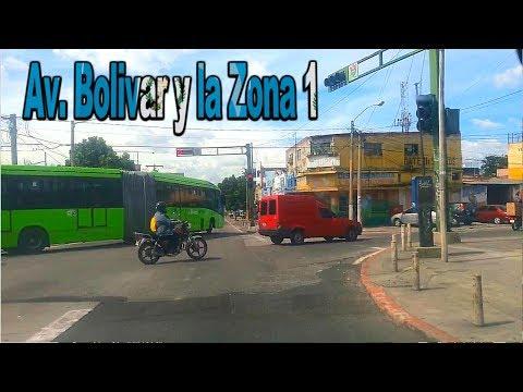 ZONA 1 Y POR LA AVENIDA BOLIVAR GUATEMALA  ( Especial de 1,000 Subs y a comprar Chuchitos)