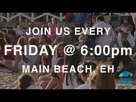Jewish Center Of The Hamptons- Shabbat On The Beach 2018