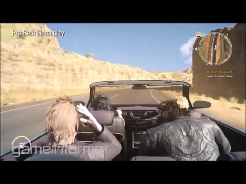 All new gameplay of Final Fantasy XV from Gameinformer