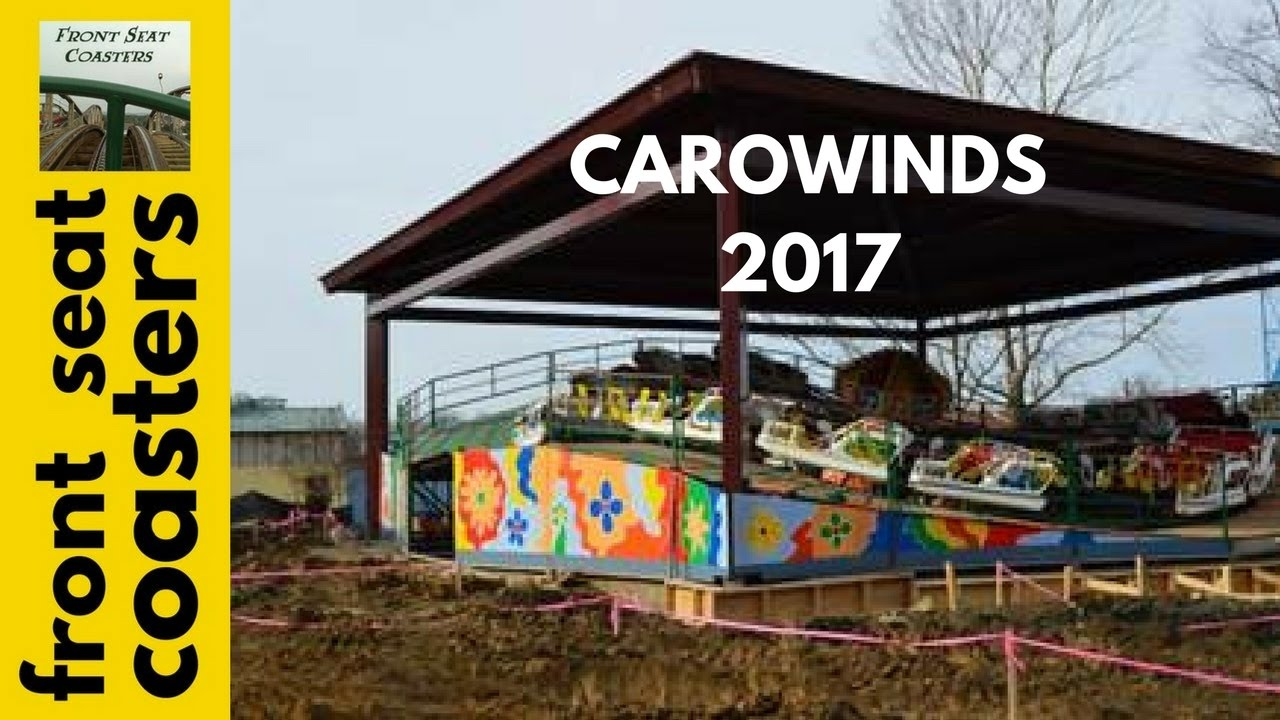 carowinds quotcounty fairquot new for 2017 electrospin ride