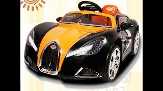 "видео: Электромобиль  ""Bugatti 188"" (Бугатти 8188HA) - Видео Обзор"