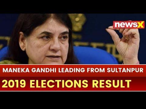 Lok Sabha Election 2019 Results Live Updates: Maneka Gandhi Leading from Sultanpur in Uttar Pradesh