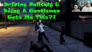 Funny GTA 5 Gameplay | Driving Politely and Being A Gentleman