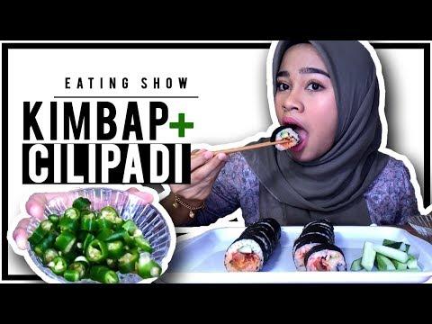 SUSHI ROLL aka KIMBAP MALAYSIA 🍣🍙| EATING SHOW