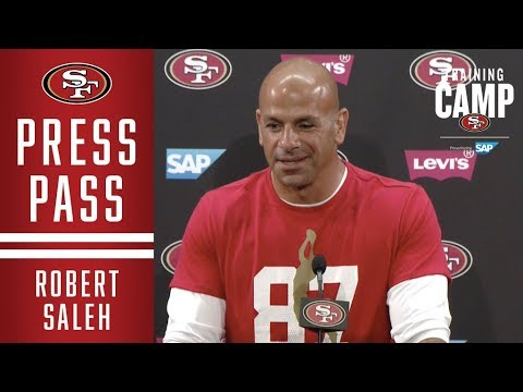 Robert Saleh Sees A More Confident Richard Sherman Going Into The 2019 Season