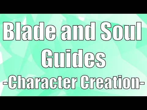 blade and soul character creation Видео