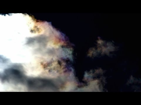 "Cosmic Fall - ""Interstellar Junction"" (geo engineering 03/2017 colored chemclouds)"