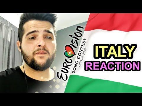 Eurovision 2018 Italy - REACTION & REVIEW [Ermal & Fabrizio - Non mi avete fatto niente]