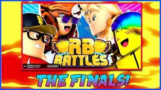 🔴ROBLOX ⚔️ RB BATTLES FINALE | WHO WILL WIN 1M ROBUX! | ROBLOX LIVE