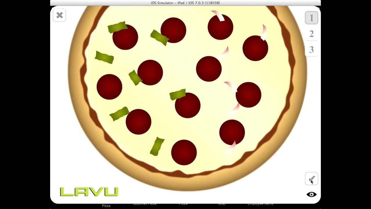 Lavu Pizza Creator Promo