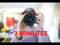HOW TO IMPROVE YOUR PHOTOGRAPHY SKILLS IN 3 MINUTES