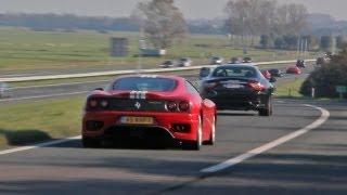 Ferrari Challenge Stradale - SOUND!!