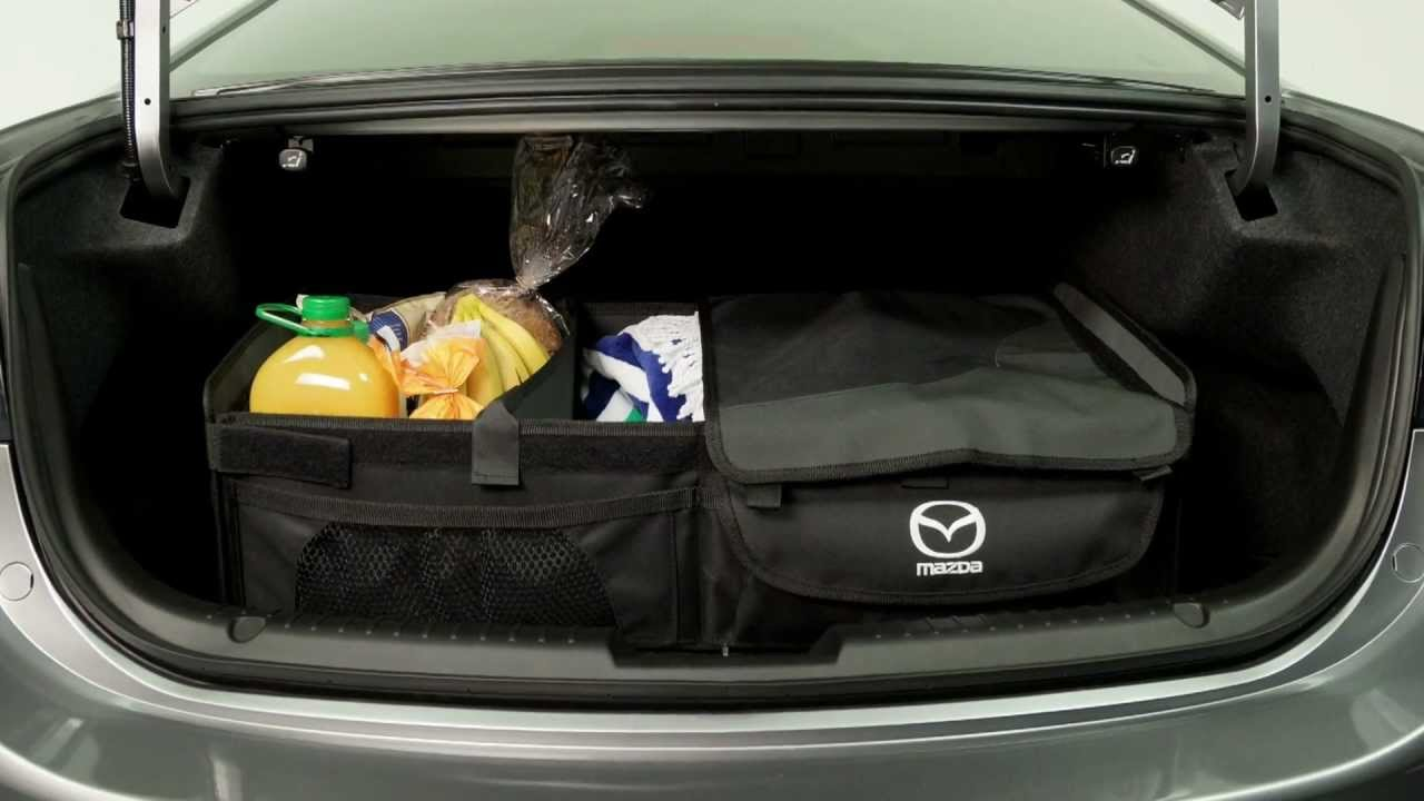 Mazda Cargo Organiser Box Youtube