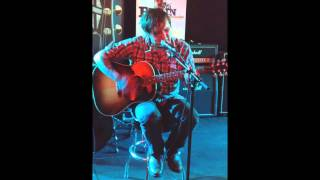 Brian Fallon - Old white Lincoln (at Gibson Showroom Berlin, March 19th, 2013)