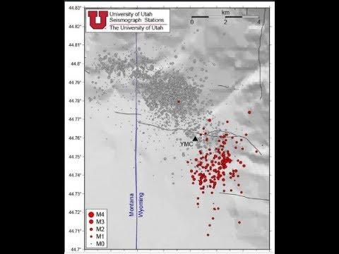 Swarm of 200 Earthquakes Hits Yellowstone - February 20, 2018