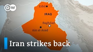 Iran strikes US military bases in Iraq: How will Trump respond? | DW News