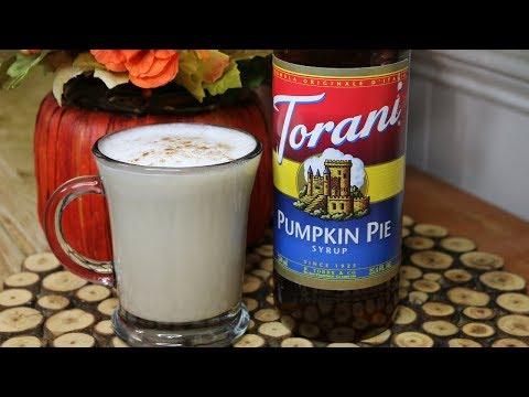 Pumpkin Spice Chai Latte Torani Friday Noreen's Kitchen