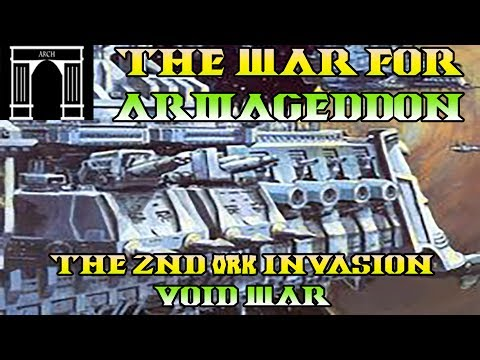 40k Lore, The War For Armageddon, 2nd Ork Invasion, Void War!